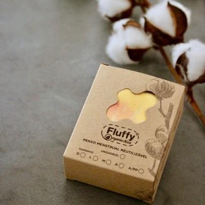 Pack Pensos Reutilizáveis - Fluffy Organic & Eco