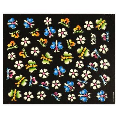 Autocolante - Flores I