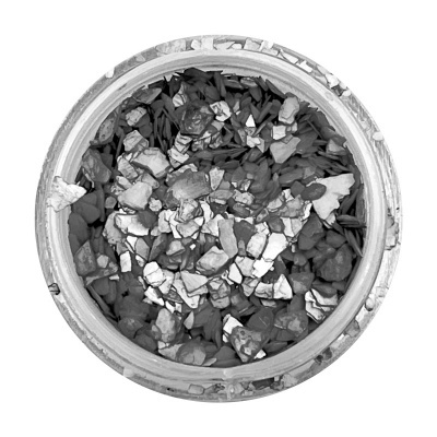 Crushed Shells - Anthracite