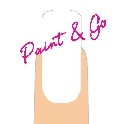 Paint & Go - White