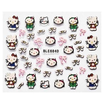 Autocolante - Hello Kitty Laços