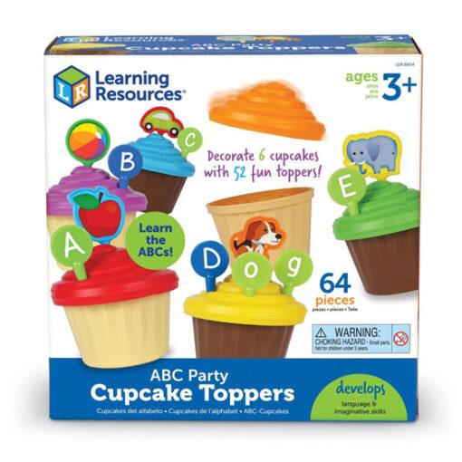 Learning Resources - Cupcakes alfabeto