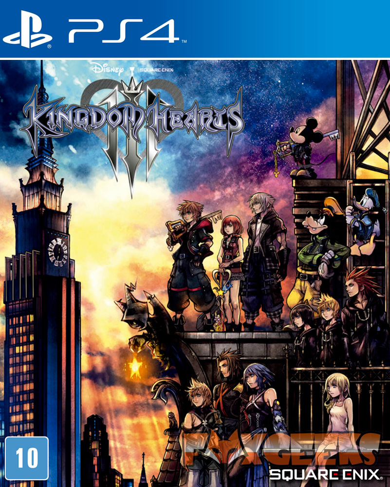 Kingdom Hearts III - PREMIUM [PS4]