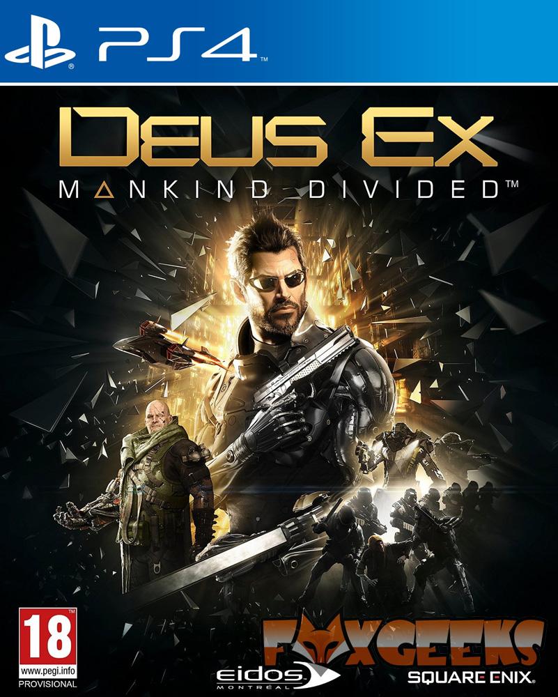 Deus Ex: Mankind Divided - PREMIUM [PS4]