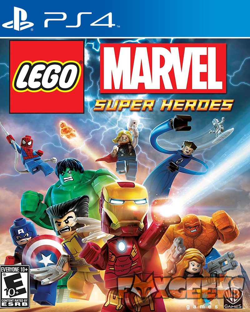 LEGO Marvel Super Heroes - LOW COST [PS4]