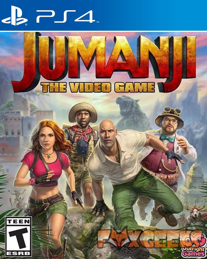 JUMANJI: O Video Game - PREMIUM [PS4]