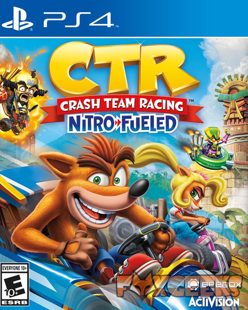 Crash Team Racing Nitro-Fueled - PREMIUM [PS4]