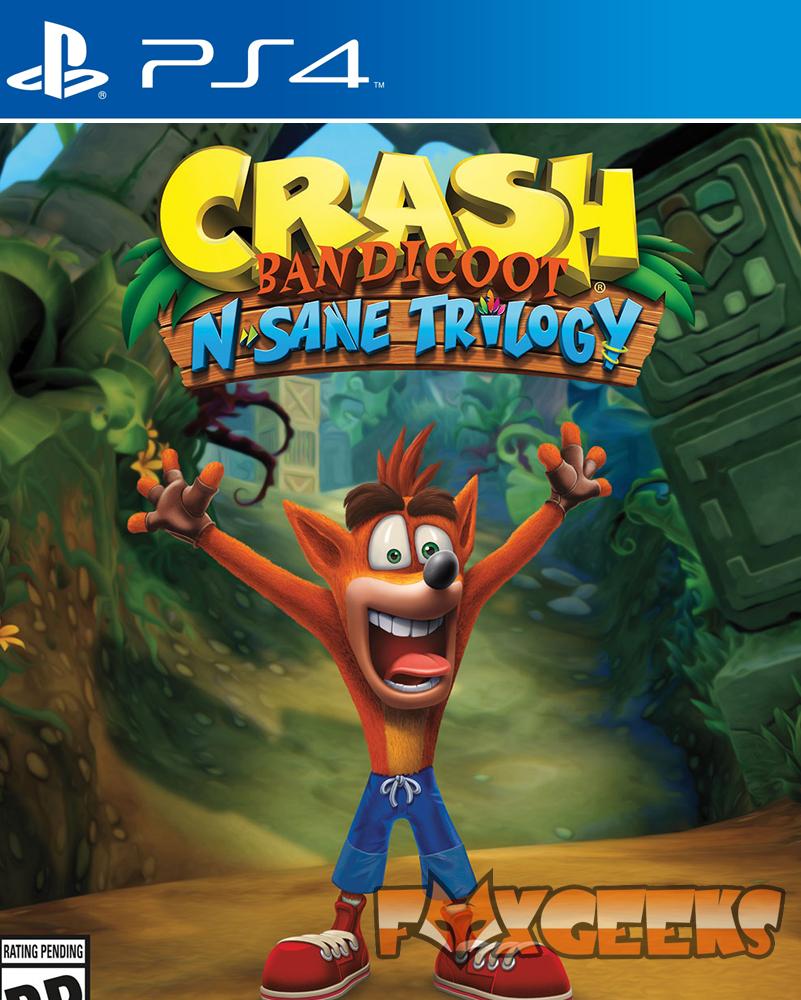 Crash Bandicoot N. Sane Trilogy - PREMIUM [PS4]