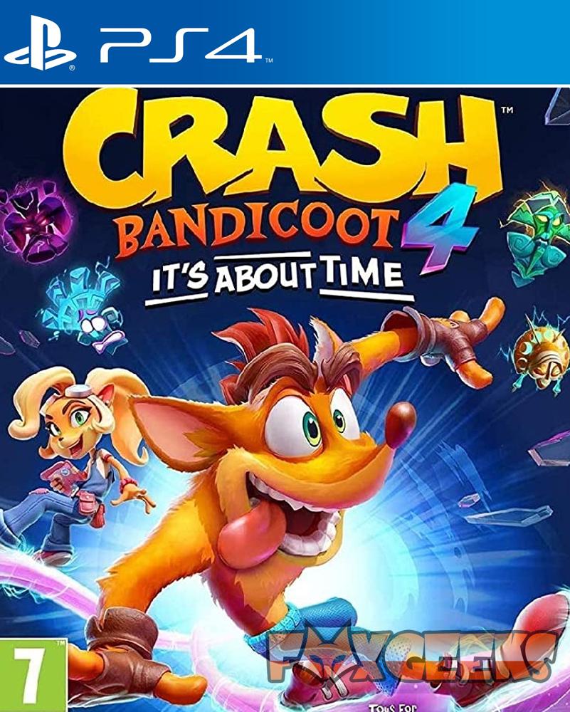 Crash Bandicoot 4: It`s About Time - PREMIUM [PS4 & PS5]