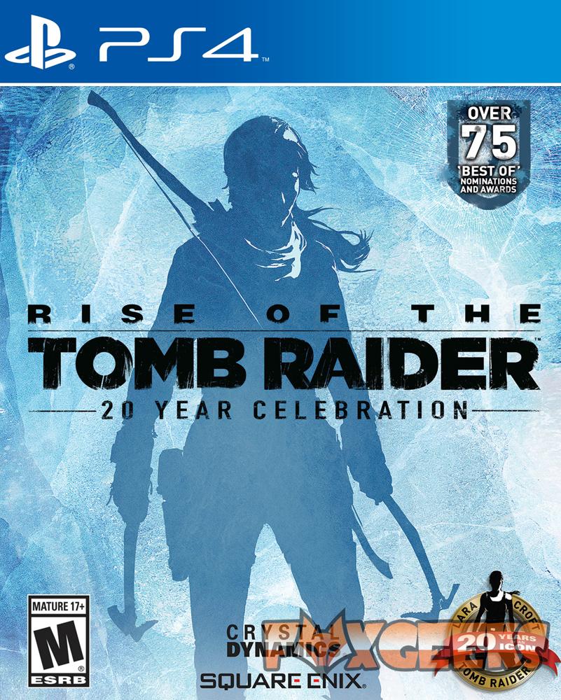 Rise of the Tomb Raider: Comemoração de 20 Anos - PREMIUM [PS4]