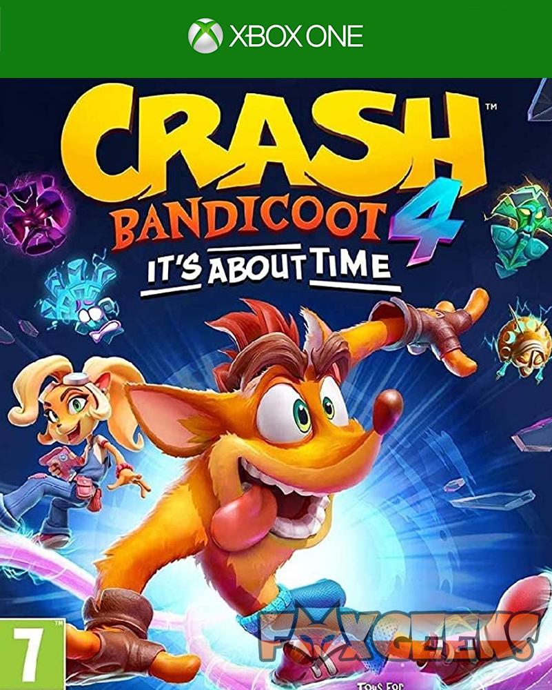 Crash Bandicoot 4: It`s About Time - PREMIUM OFFLINE [Xbox One]