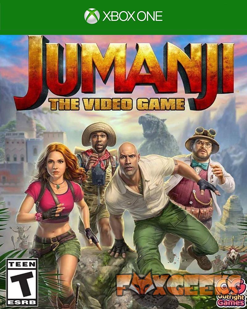 JUMANJI: O Video Game - PREMIUM OFFLINE [Xbox One]