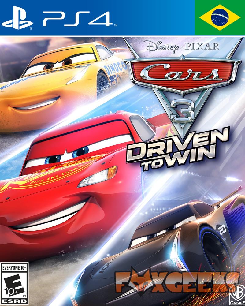 Carros 3: Correndo para Vencer - PREMIUM [PS4]