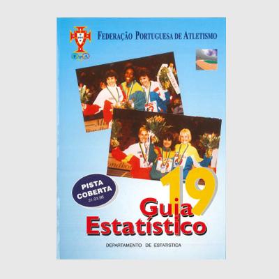 Guia Estatístico 19 - Pista Coberta 1996