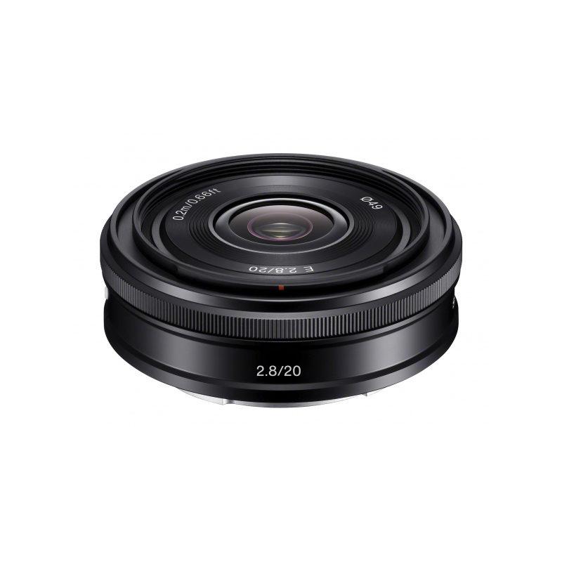 Sony E 20mm f/2.8 objectiva (SEL20F28.AE)