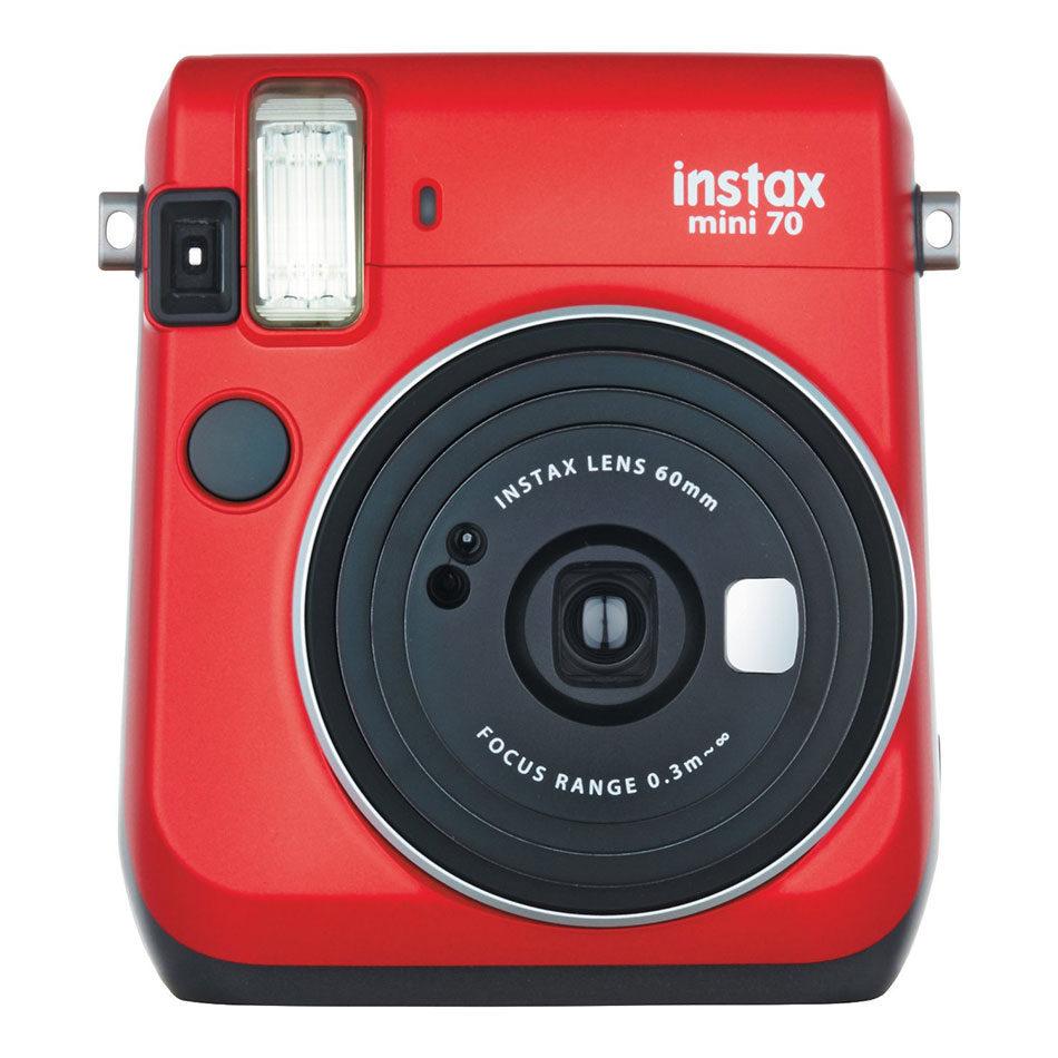 Fujifilm Instax Mini 70 Red instant camera