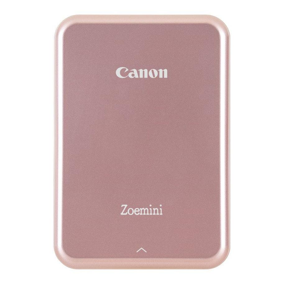 Canon Zoemini, caixa aberta em ouro rosa