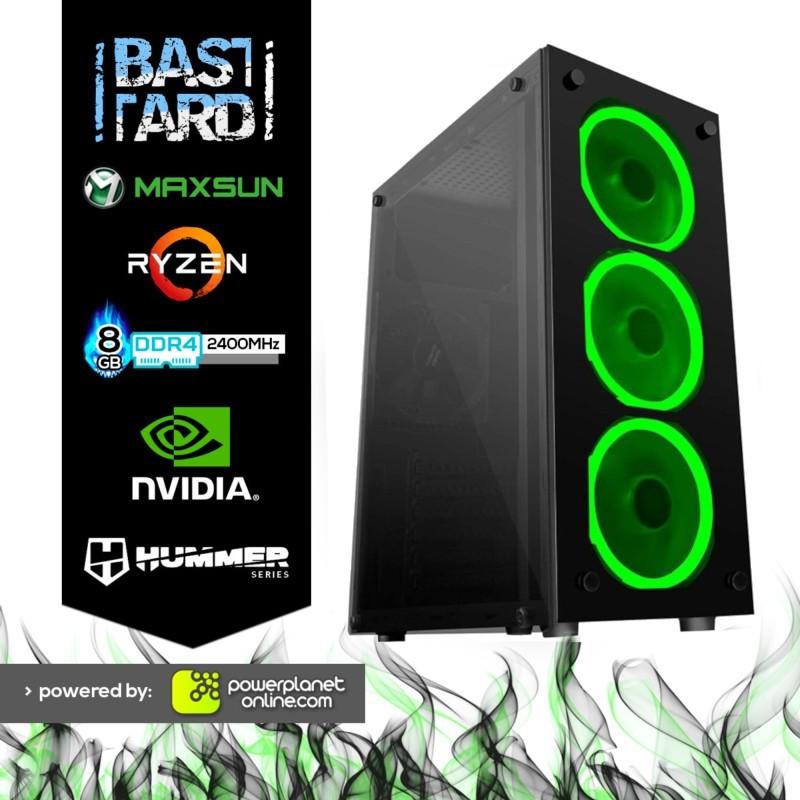 Computador Desktop Gaming Ryzen 3 3200G/8GB/GTX1050Ti 4GB/120GB SSD Bastard