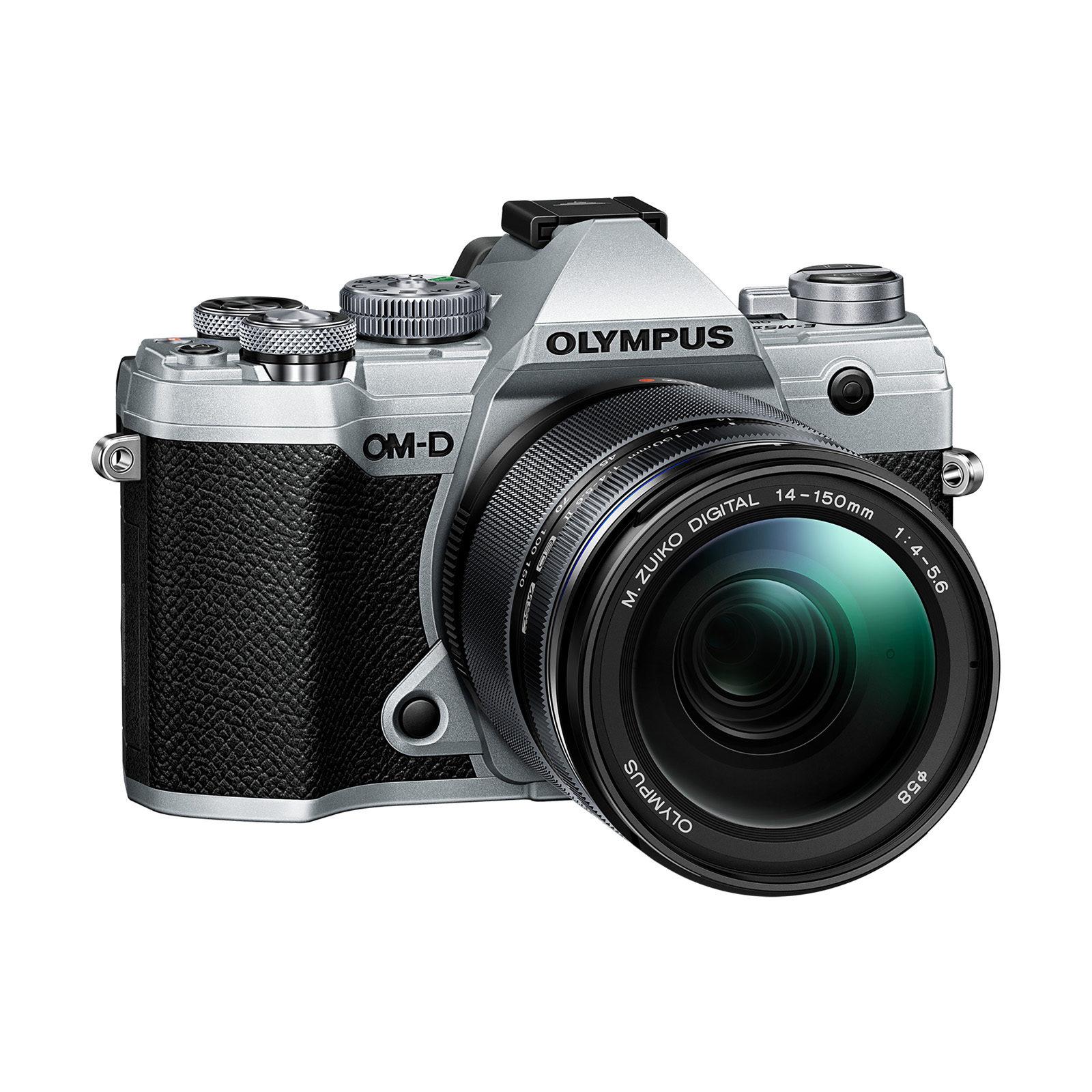 Olympus OM-D E-M5 Mark III Prata + 14-150mm Preto