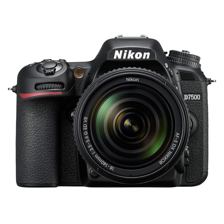 Nikon D7500 DSLR + 18-140mm VR