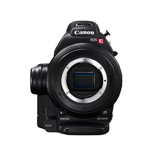 Câmera de vídeo Canon EOS C100 (montagem EF) + Atualização AF CMOS de pixel duplo