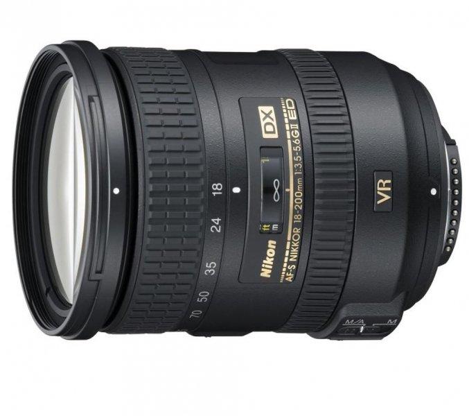 Nikon Nikkor AF-S VR DX 18-200mm 3.5-5.6G IF-ED II