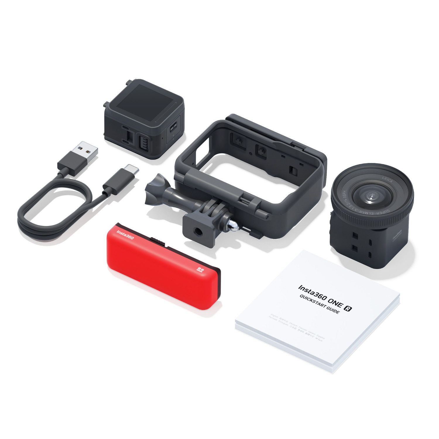 Insta360 One X Skate Bundle (accessories only)