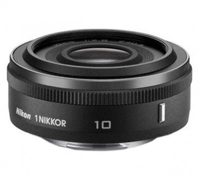 NIKON Objectiva 1 Nikkor 10 mm f/2,8 - preta mate