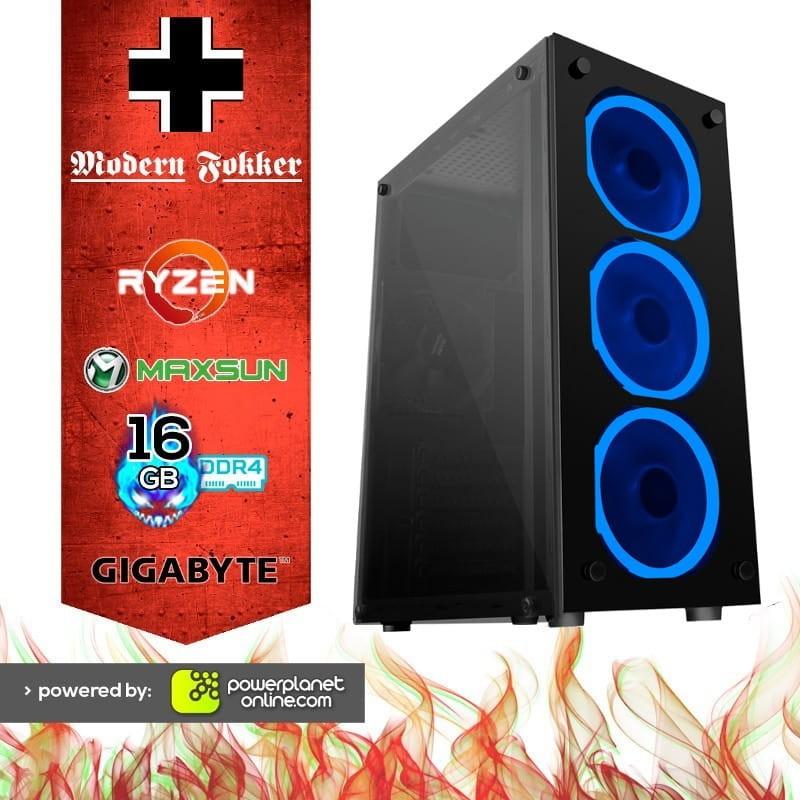 PC Gaming Ryzen 3-3200G/16GB RAM/120GB SSD/Modern Fokker