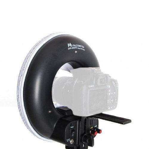 Falcon Eyes LED Anel Lâmpada Regulável DVR-300DVC em 230V