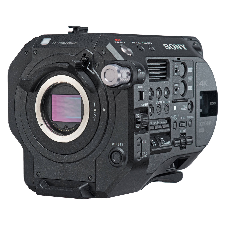 Câmera de vídeo Sony PXW-FS7 II 4K + XDCA-FS7