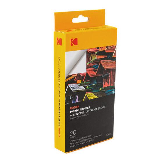 Kodak Minishot 20 Adesivos