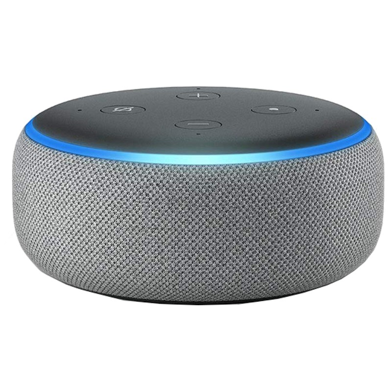 Amazon Echo Dot 3ª Geração Cinzento Escuro - Coluna Inteligente Alexa