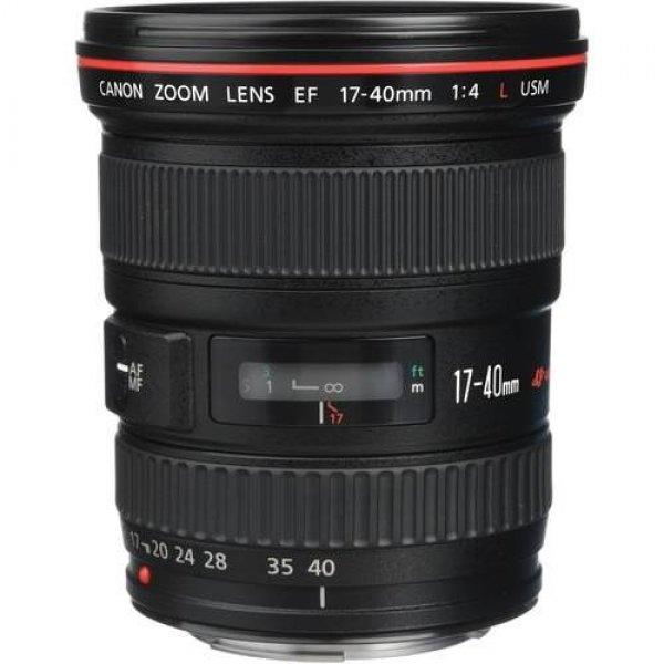 CANON Objectiva 17-40 mm F/4 L USM