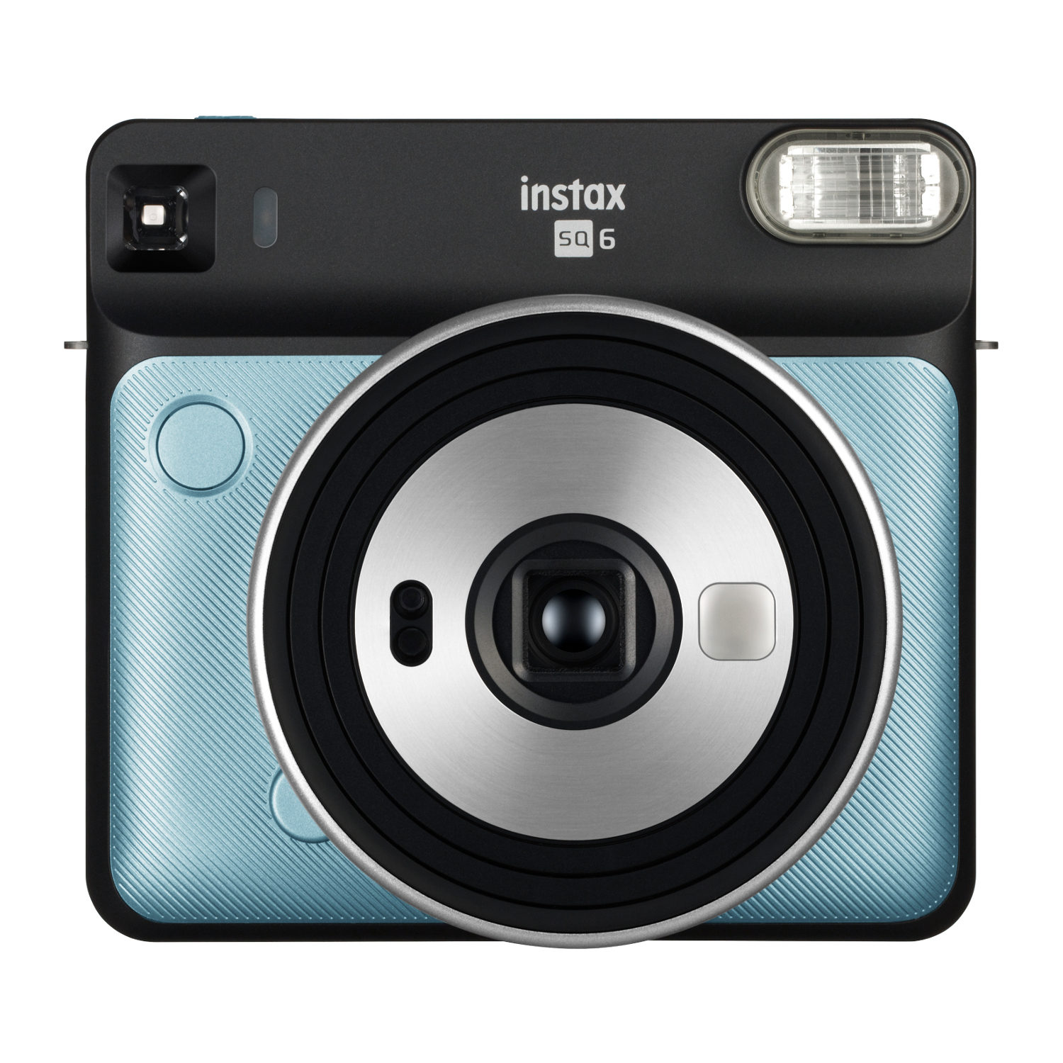 Fujifilm Instax Square SQ6 instant camera Aqua Blue + Fujifilm Instax Square Film (2-Pak) + Jupio CR2 3V Lithium batterij + Fujifilm Instax SQ6 Case Graphite Gray