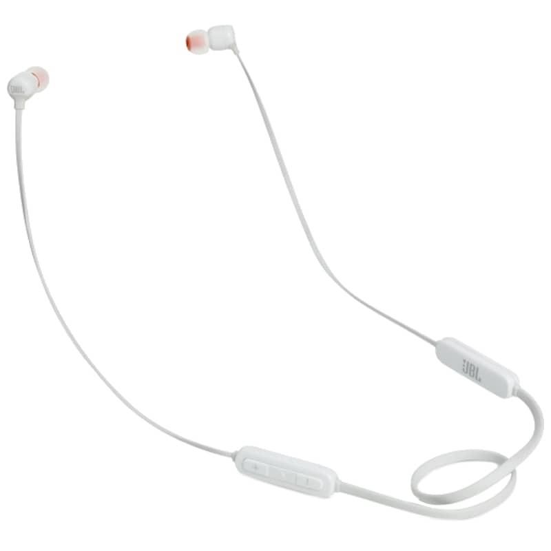 JBL Tune 110BT Bluetooth 4.0 Branco - Auriculares In-Ear