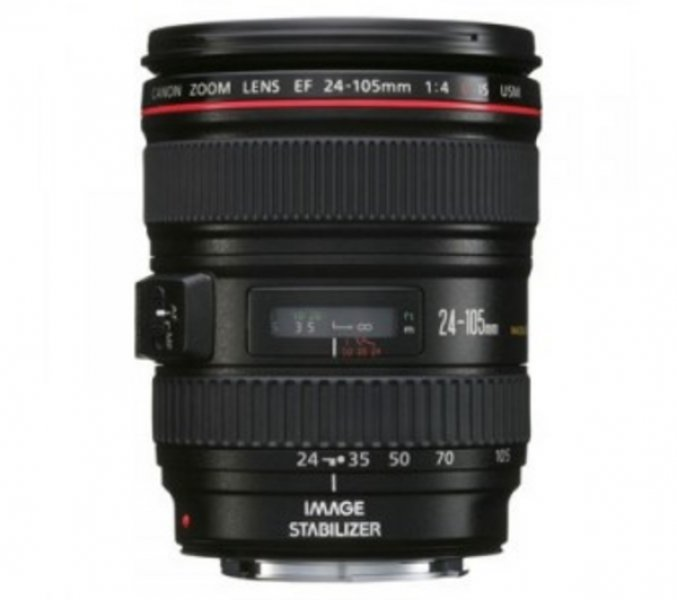 CANON Objectiva EF 24-105 mm f/4L IS USM