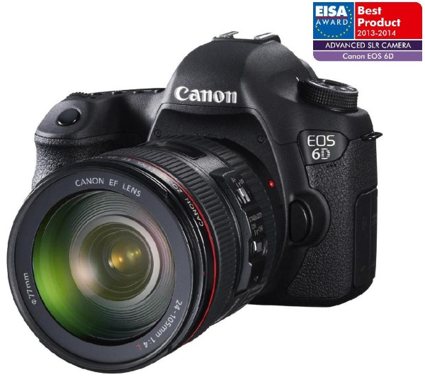 CANON EOS 6D + OBJETIVA EF 24-105 MM IS