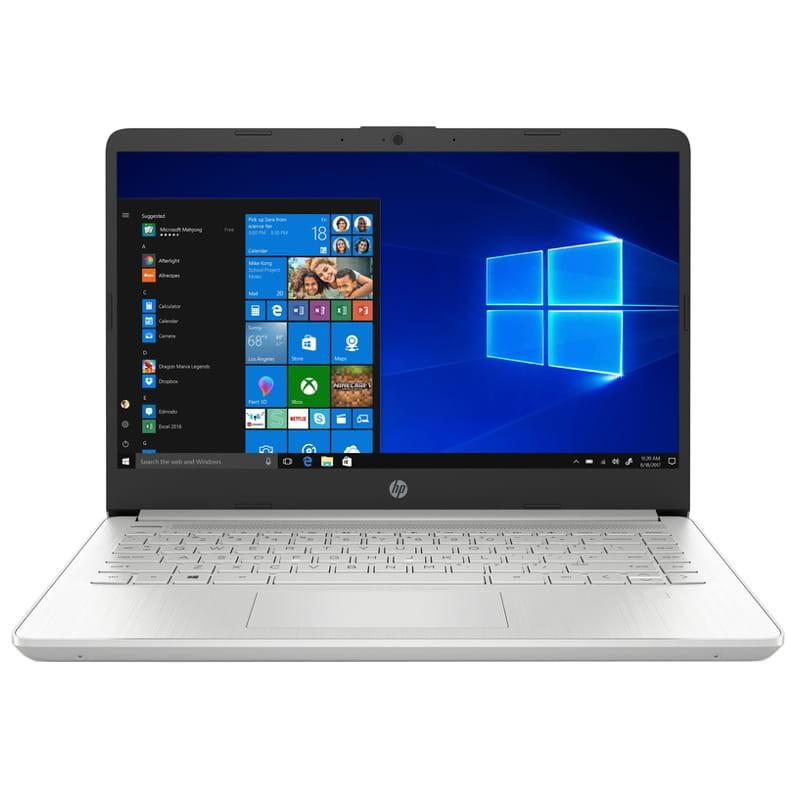 HP 14S-DQ1038NS Intel I3-1005G1/8GB/256GB SSD/W10 Home S/Plata - 1E1W7EA - Portátil 14