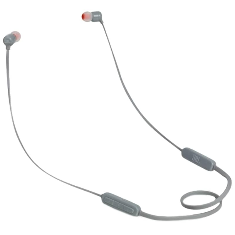 JBL Tune 110BT Bluetooth 4.0 Cinzento - Auriculares In-Ear