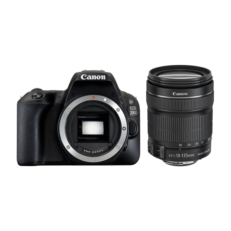 Canon EOS 200D DSLR + 18-135mm IS STM