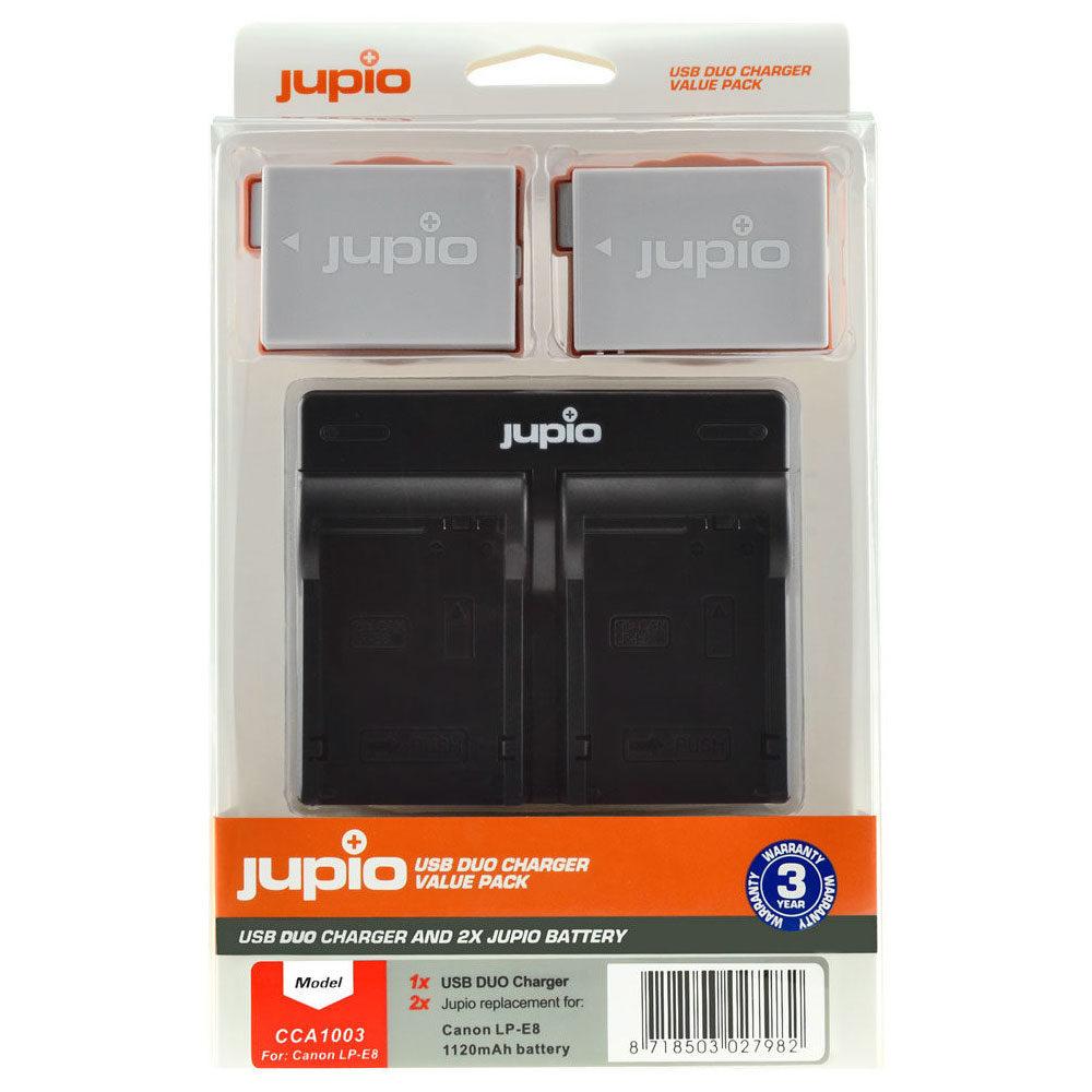 Canon LP-E8 USB Duo Charger Kit (Merk Jupio)