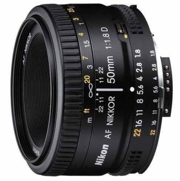 NIKON Objectiva AF 50 mm f/1,8D