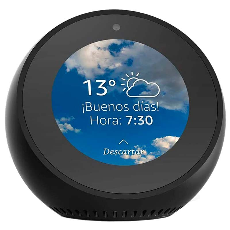 Amazon Echo Spot Preto - Assistente Smart Home