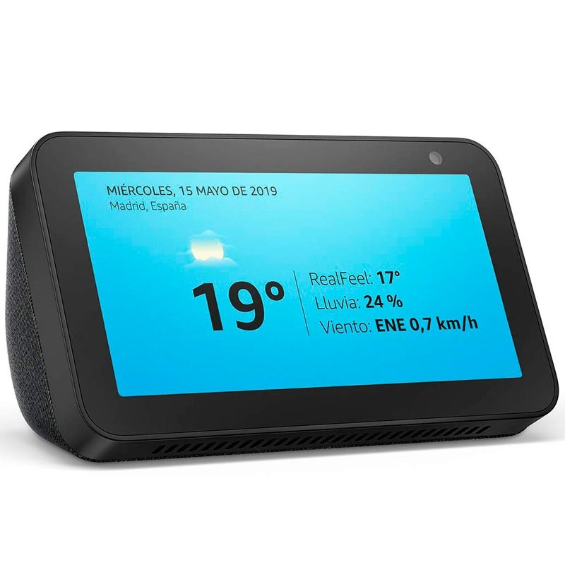 Amazon Echo Show 5 Preto Antracite - Assistente Smart Home
