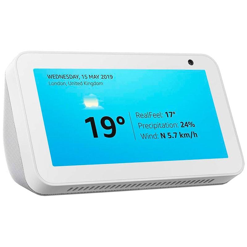 Amazon Echo Show 5 Branco Sandstone - Assistente Smart Home