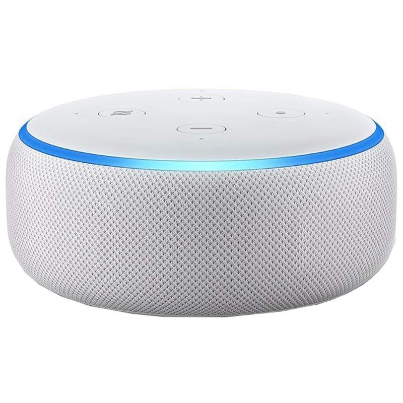 Amazon Echo Dot 3ª Geração Cinzento Claro - Coluna Inteligente Alexa