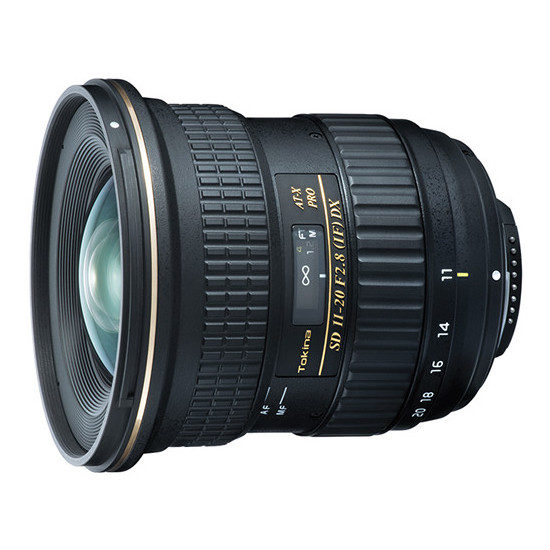 Tokina AT-X 11-20mm f/2.8 Pro DX (para Nikon)