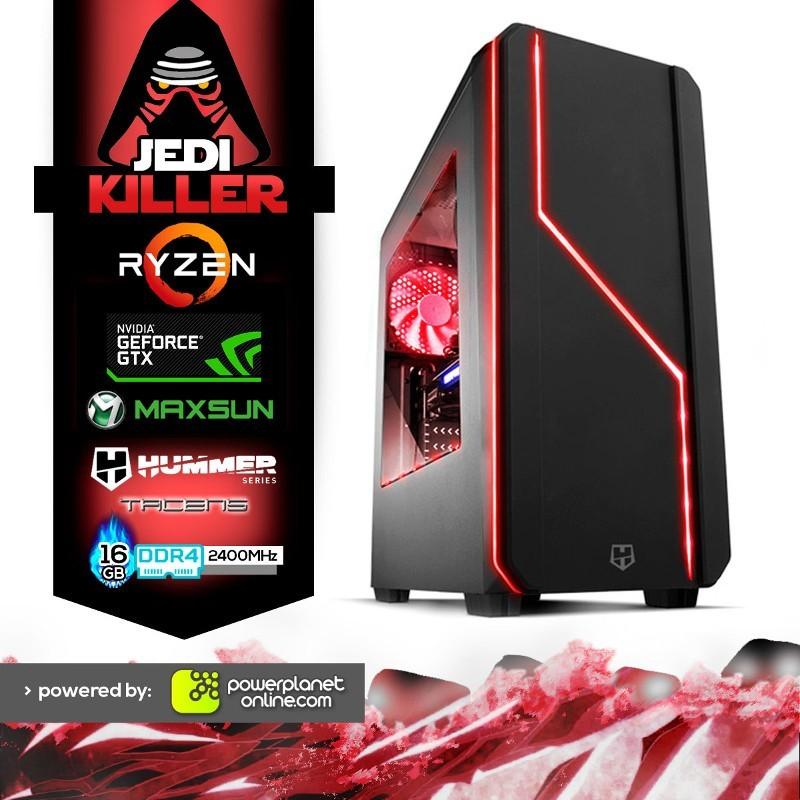 PC Gaming Ryzen 5 3400G/16GB/120SSD/GTX1660 6GB/Jedi Killer