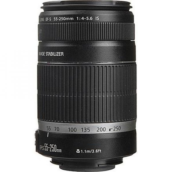 CANON OBJECTIVA EF-S 55-250 MM F/4-5,6 IS II